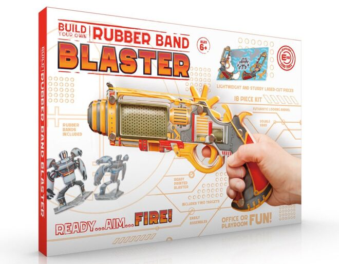Rubber Band Blaster Build Your Own