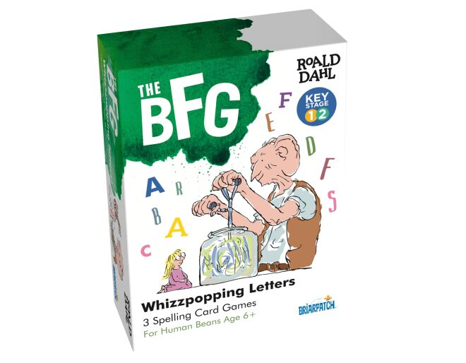 The BFG Whizzpopping Letters Game