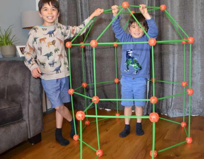 Build a Fort - Glow in the Dark