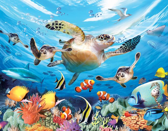 Journey of the Sea Turtles 3D Puzzle