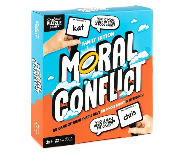 Moral Conflict Game