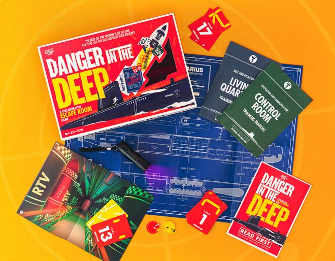 Danger in the Deep Escape Room Game
