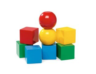 Magnetic Wooden Blocks - Brio