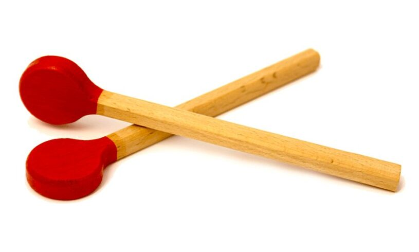 Wooden Mini Xylophone Sticks