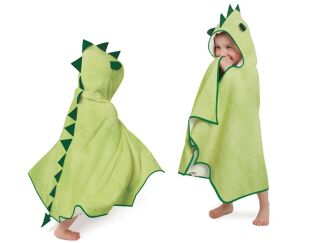 Dinosaur hooded bath robe Cuddleroar