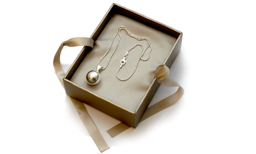 Chiming Ball Necklace