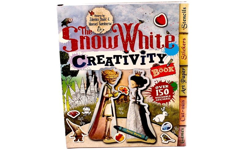 Snow White Creativity Book - Fun Activities