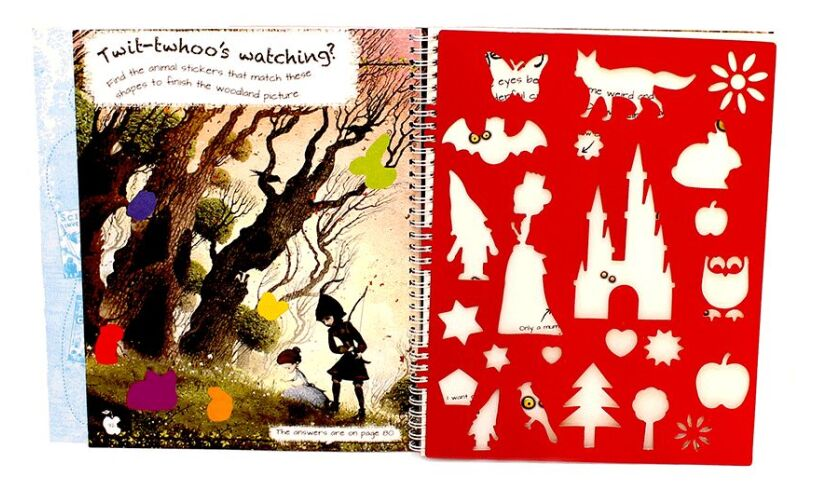 Snow White Creativity Book Stencils