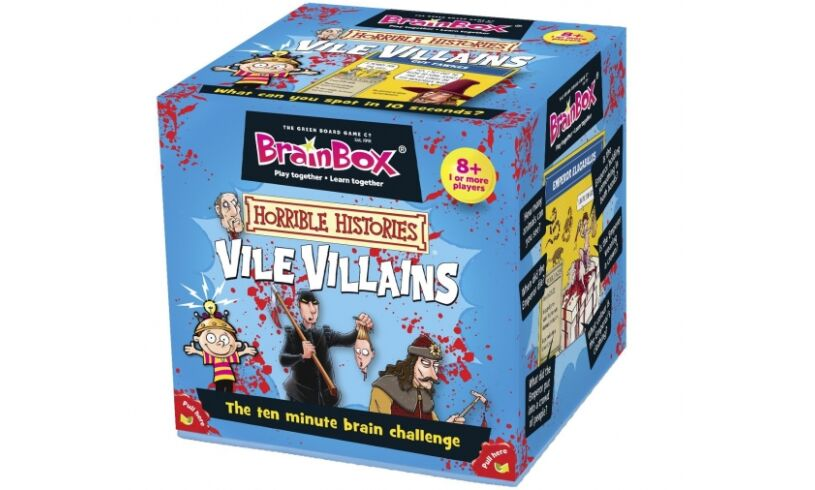 Vile Villans Brainbox Packaging