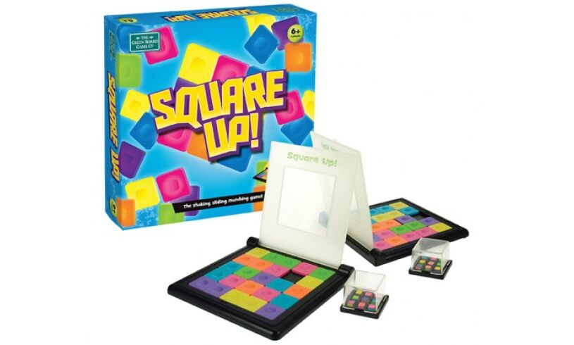 Green Board Square Up Game