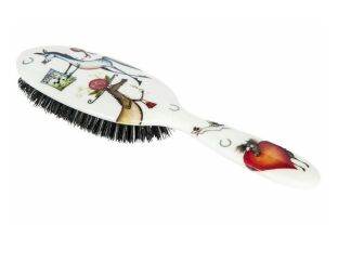 Ponies Junior Hairbrush - Natural Boar Bristles