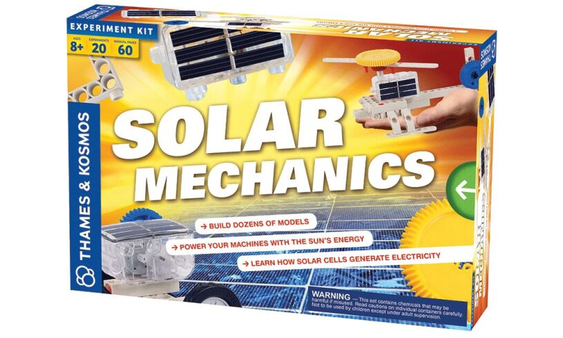 Solar Mechanics Experiment Kit Packaging