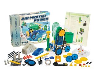 Air & Water Power - Build a Hydraulic Engine