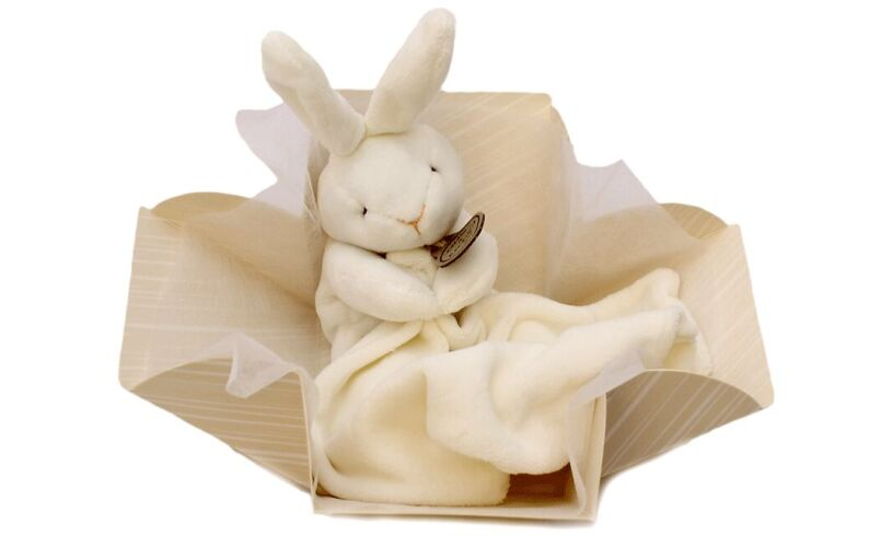 Little Rabbit Comforter from Doudou et Cie