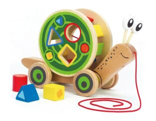 Walkalong Snail & Shape Sorter
