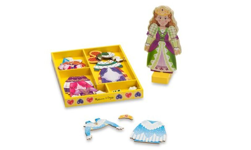 Princess Elise Dress-Up Doll
