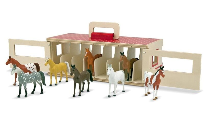 Show-Horse Stable - Horses