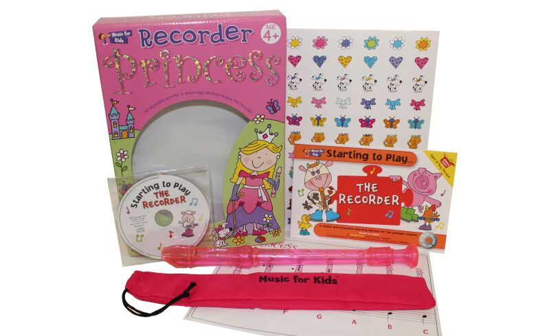 Princess Recorder Pack