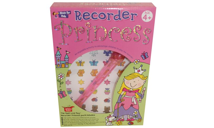 Princess Recorder Packaging